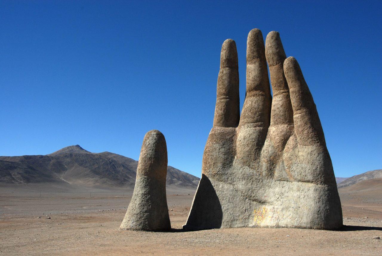 Чили, Ръката на пустинята